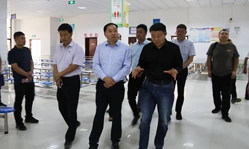 开发区党工委书记吴玉培督导调研食品安全工作