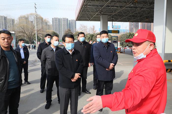 市委书记蒿慧杰实地检查安全生产工作