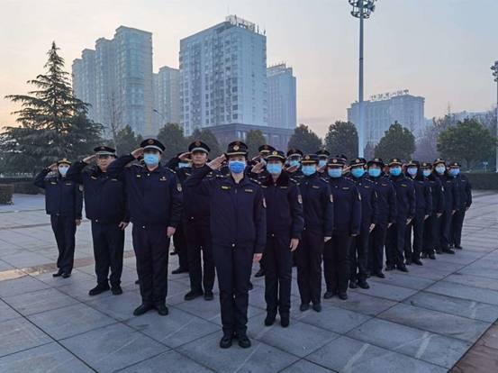 """漯河城管开展新年第一""""训"""" 训出城市管理真底蕴"""